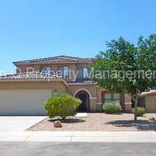 Rental info for San Tan Heights - 4 bedroom home!
