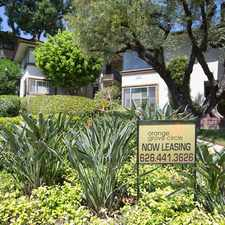 Rental info for Orange Grove Circle in the Pasadena area