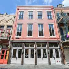 Rental info for 309 Chartres Street #B in the New Orleans area