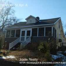 Rental info for 1015 Clarendon St Apt. A in the Durham area