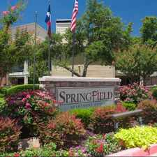 Rental info for Springfield in the Mesquite area