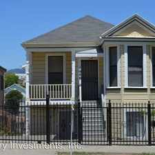 Rental info for 1944-46 E 20th Street in the Oakland area