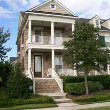 Rental info for Beautifully Furnished Townhome On Daniel Island