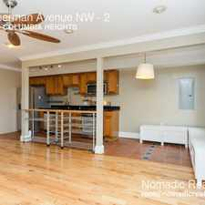 Rental info for 3328 Sherman Avenue NW in the Columbia Heights area