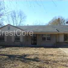 Rental info for ***Coming Soon*** in the Memphis area
