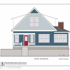Rental info for 613 N. Lincoln in the Bloomington area