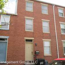 Rental info for 843 McHenry St in the Baltimore area