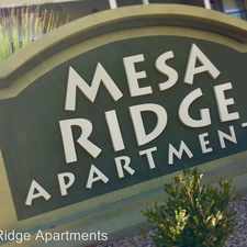 Rental info for Mesa Ridge Apartments 108 Vaquero Lane