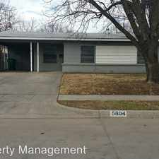Rental info for 5804 Pollard Dr in the Fort Worth area