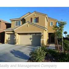 Rental info for 2009 Summer Lily Ave in the Las Vegas area
