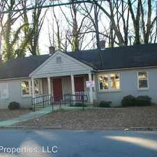 Rental info for 177 Holderness St SW in the Atlanta area