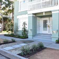 Rental info for 1316 East 3rd Street #D in the Long Beach area