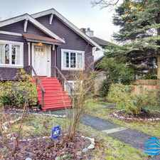 Rental info for 2016 West 47th Avenue in the Kerrisdale area