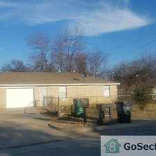 Rental info for 2 Bedroom 1 bathroom Duplex Available March 1 in the Fort Worth area