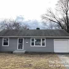 Rental info for 353 S. Marguerite Ave in the St. Louis area