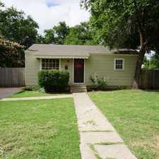 Rental info for 2819 38th in the Lubbock area