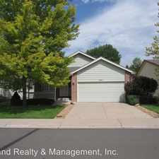 Rental info for 1951 E 135th Pl in the 80241 area