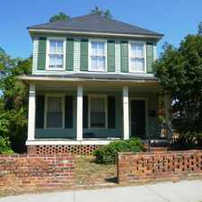 Rental info for 141 West Washington Street in the Milledgeville area