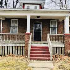 Rental info for 1425 Martin Luther King in the Springfield area