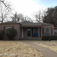 Rental info for 2419 32nd Street in the Lubbock area