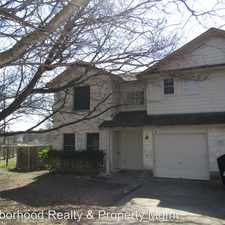 Rental info for 8511-A APPLE CARRIE COVE in the Austin area