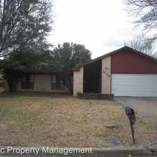 Rental info for 2008 Bay Oak Dr in the Fort Worth area