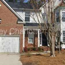Rental info for 7731 Harrington Woods Road Charlotte NC 28269 in the Charlotte area