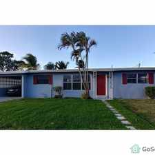 Rental info for Nicest house in Lauderdale Manors in the Fort Lauderdale area
