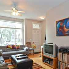 Rental info for W Walton St & N Campbell Ave in the Humboldt Park area