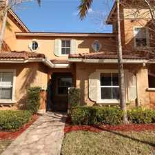 Rental info for 12041 SW 26 St in the Miramar area
