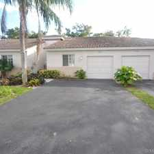 Rental info for 11648 Southwest 19th Street in the Miramar area