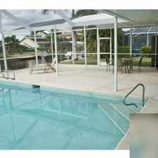 Rental info for House For Rent In Cape Coral. in the Cape Coral area