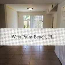 Rental info for House In Great Location in the Riviera Beach area