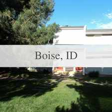 Rental info for Cute 1 Bedroom Apartment On The Bench in the Boise City area