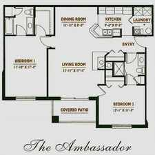 Rental info for Ambassador - 1st Floor Unit With Whirlpool Tub in the 46322 area