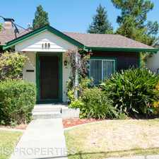 Rental info for 488 Rutland Ave in the San Jose area