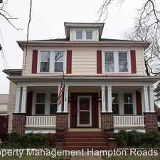Rental info for 1625 Ann Street in the Chesapeake area