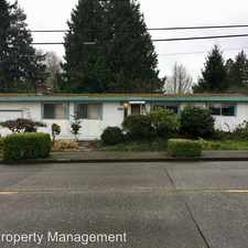 Rental info for 6003 S. Bangor St in the Rainier View area