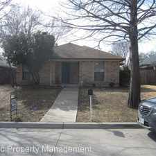 Rental info for 1103 Appleton in the Fort Worth area