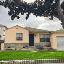 Rental info for 834 E. Silva St. in the Los Angeles area