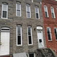 Rental info for 1243 W Cross St in the Baltimore area