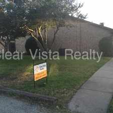 Rental info for SPACIOUS - 2 BEDROOM / 2 BATH LONTOS HEIGHTS DUPLEX in the Dallas area