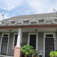 Rental info for New Orleans - PRECIOUS DOUBLE WITH 2 BEDROOMS. in the Touro area