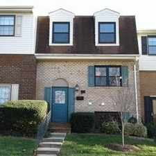 Rental info for Towson - Superb Townhouse Nearby Fine Dining. P... in the Towson area