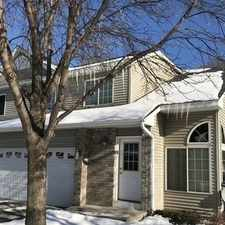 "Rental info for Is A Beautiful 2 Bedroom ""End Unit"" Tow... in the Coon Rapids area"