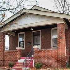 Rental info for Super Cute! House For Rent! in the St. Louis area