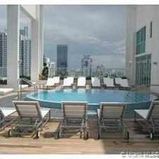 Rental info for 55 Southeast 6th Street #2504 in the Miami area