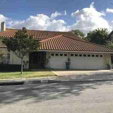 Rental info for 2352 Hillsbury Road Westlake Village, pool home with 4 large