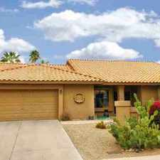 Rental info for 9942 E Camino Del Santo Scottsdale Three BR, This QUIET home is in the Scottsdale area