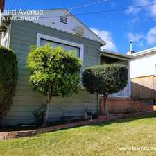 Rental info for 6729 Laird Avenue in the Oakland area